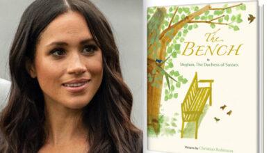 """صورة كتاب جديد :  """"The Bench"""" لميغان ماركل يتصدر أمازون"""