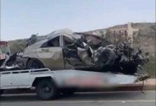 صورة مصرع شقيقتين بحادث مروّع في السعودية