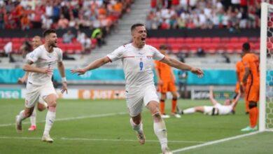 صورة يورو 2020 : ماكينات التشيك تفرم طواحين هولندا وتلاقى الدنمارك بربع النهائي
