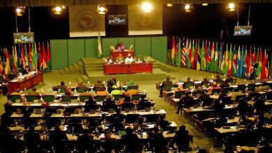 صورة تهديد بالقتل وفوضى ومشاجرات في البرلمان الإفريقي