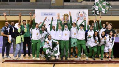 صورة العربي يتوج بلقب بطولة كأس الاتحاد_الكويتي لكرة السلة للسيدات
