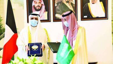 صورة السعودية للكويت: أمننا واحد