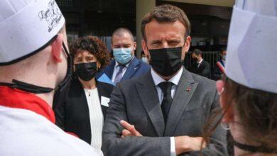 صورة ماكرون يتلقى «صفعة» جنوب شرق فرنسا