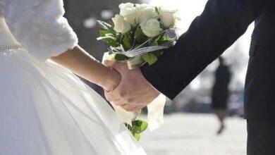 صورة مصرع عروسين خلال الزفاف