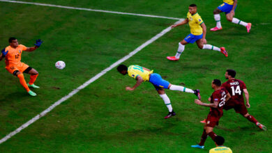 صورة السامبا البرازيلة تفتتح كوبا أمريكا بالفوز 3-صفر على فنزويلا