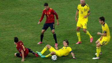 صورة تعادل منتخبا إسبانيا والسويد سلبيًا