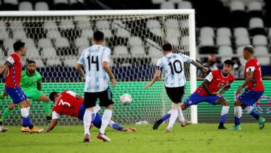 صورة كوبا أمريكا..هدف ميسي الرائع لم يكف الأرجنتين للإطاحة بتشيلي
