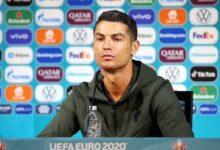 صورة ما سبب غضب رونالدو في المؤتمر الصحفي للبرتغال؟