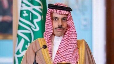 صورة وزير الخارجية السعودي: زيارة الشيخ مشعل الأحمد ستدعم التنسيق المشترك حيال التهديدات الإيرانية في المنطقة مع الإدارة الأميركية