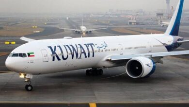صورة «الكويتية» تفتح 3 رحلات أسبوعياً إلى باريس ورحلتان إلى ملقا الإسبانية