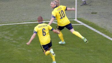 صورة الثور الإسباني يسقط سلوفاكيا بالخمسة ويتأهل والسويد تخطف فوزاً قاتلاً من بولندا
