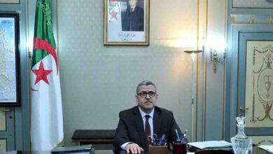 صورة استقالة رئيس وزراء الجزائر