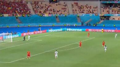 صورة ما رد رونالدو على إحراج حارس مرمى بلجيكا وريال مدريد ؟