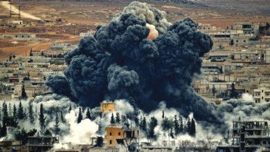 صورة ماذا حدث قبل ساعتين من القصف الأمريكي لـ «الحشد الشعبي»؟
