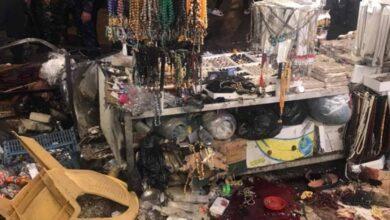 صورة مقتل شخصين وإصابة 14 بانفجار أسطوانة غاز