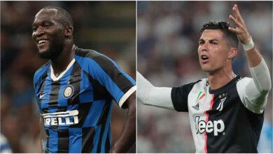 صورة لوكاكو أفضل لاعب في الدوري الإيطالي ورونالدو أفضل مهاجم