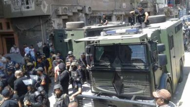 صورة دماء وجثث أبرياء..ماذا حدث في مجزرة أبوحزام بمصر؟