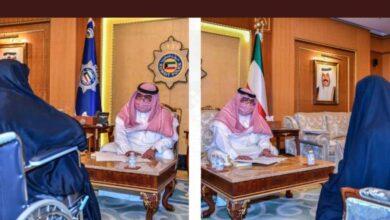 صورة وزير الداخلية يستقبل أصحاب الشكاوى للإشراف على حل مشكلاتهم