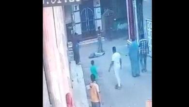 صورة مقتل إمام مسجد أمام أعين الناس في الشارع