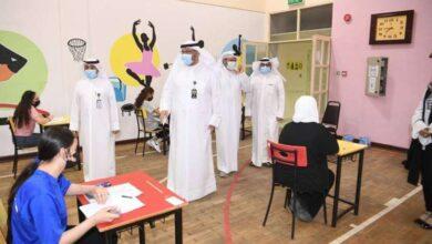 صورة انطلاق الاختبارات الورقية لـ 700 طالب وطالبة في المدارس الأجنبية