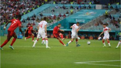 صورة فوز المنتخب السويسري على نظيره التركي 3-1