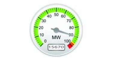 صورة الأحمال الكهربائية تسجل أعلى حمل في تاريخها