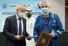صورة «نفط الكويت» توقع عقدين لمعالجة التربة الملوثة جراء الغزو العراقي