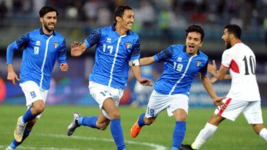 صورة منتخب الكويت الأولمبي في المجموعة الرابعة بالتصفيات المؤهلة إلى نهائيات كأس آسيا تحت 23 عاماً