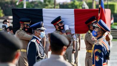 صورة أول جنازة عسكرية لسيدة في سابقة تاريخية.. مصر تشيّع جيهان السادات