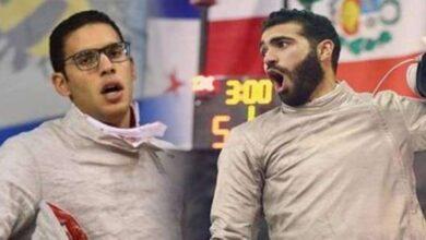 صورة خروج المصريين عامر والسيسي من «أولمبياد طوكيو» بعد بداية نارية
