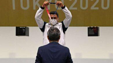 صورة فروغي يمنح إيران أول ذهبية بـ منافسات الرماية في الأولمبياد