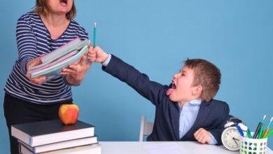 صورة ماذا تفعلين لو كنت تتعرضين للعنف من قبل طفلك الصغير؟