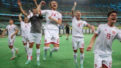 صورة بطولة أمم أوروبا : الدنمارك تطيح بالتشيك
