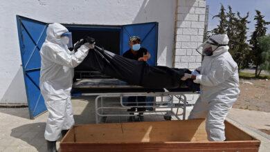 صورة 116 وفاة جديدة بكورونا في تونس ووضع وبائي متدهور