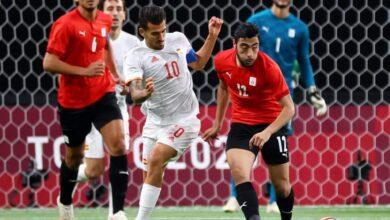 صورة الأولمبياد : التعادل السلبي يحسم لقاء مصر وإسبانيا