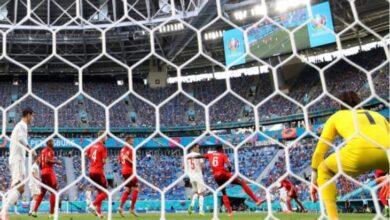 صورة اسبانيا تسقط سويسرا بركلات الترجيح وتبلغ نصف النهائي