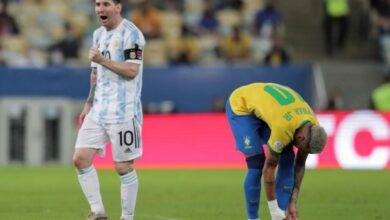 صورة الأرجنتين تتوج بكوبا أمريكا على خساب البرازيل البرازيل