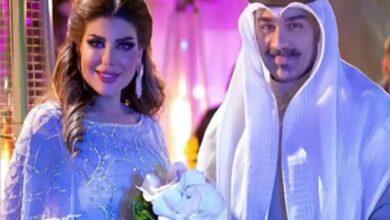 صورة إلهام الفضالة تحسم الجدل وتعلن زواجها بشهاب جوهر