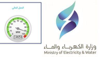 صورة مؤشر الأحمال الكهربائية في الكويت يسجل رقماً قياسياً جديداً
