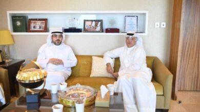 صورة الشاهين يستقبل بسام الفيلي: على المسؤولين دعم المبدعين الكويتيين وتذليل العقبات أمامهم