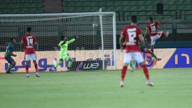 صورة الدورى المصرى : الأهلي يفوز على مصر للمقاصة 4-1