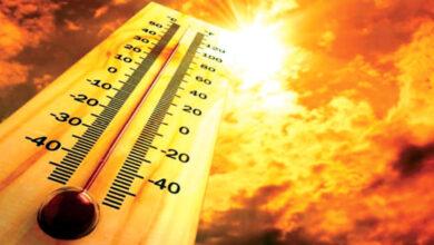 صورة درجات الحرارة تسجل أعلى مستوى لها على الإطلاق في غرب أمريكا