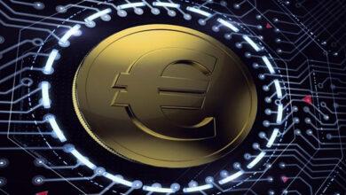 """صورة """"اليورو الرقمي"""" قيد التجريب"""