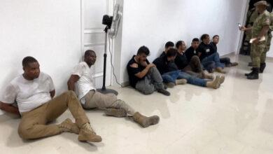 صورة كولومبيون معتقلون لتورطهم في مقتل رئيس هايتي يكشفون الجهة التي جندتهم