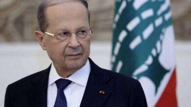 صورة الرئيس اللبناني يستدعي حاكم المصرف المركزي بعد قرار رفع دعم المحروقات
