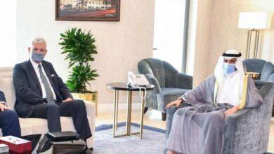 صورة الغانم يستقبل رئيس الدورة 75 للجمعية العامة للأمم المتحدة