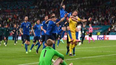 صورة نهائي بطولة أوروبا 2020 كان بؤرة لانتشار فيروس كورونا