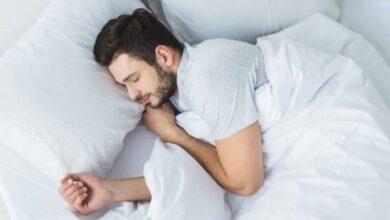 صورة تقنية لنوم هانئ خلال 60 ثانية فقط