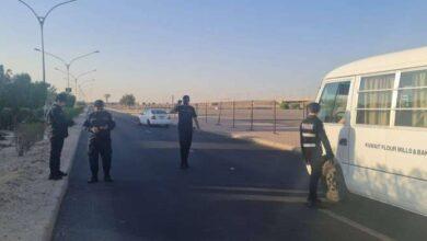 صورة 248 مخالفا ضبطوا في «الأحمدي» و«مبارك الكبير» إلى «الإبعاد»