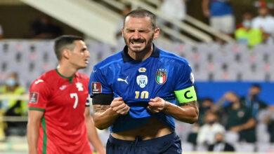 صورة إيطاليا تتساوى مع البرازيل وإسبانيا بخوض 35 مباراة متتالية بدون هزيمة